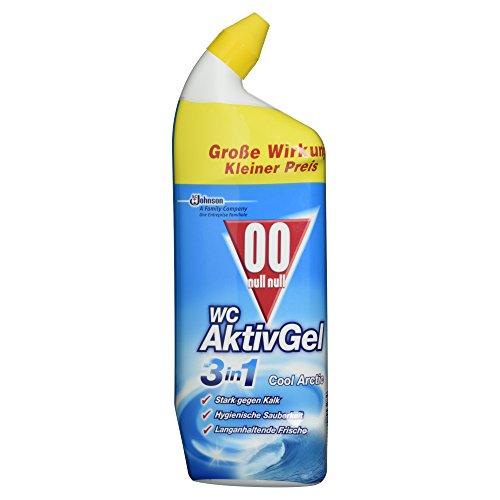 00 null null Original Nachfüller für WC-Ente Activ 3in1 Duftspüler, Für Frische und Sauberkeit bis zu 3 Wochen, Cool Arctic-Duft, 2 x 55 ml Test