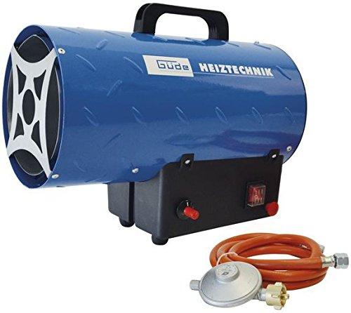 Güde Gasheizgebläse GGH 10 L | 10 kW Heizleistung | kompakter Gasheizer für den universellen Einsatz