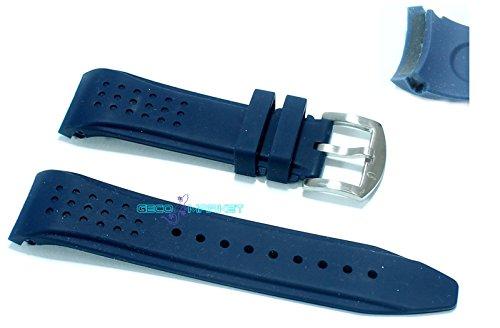 cinturino-in-gomma-blu-per-orologio-ansa-curva-22mm-tipo-nautica-silicone-caucciu-watch-strap