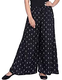 LCUPR Women's Loose Fit Palazzo