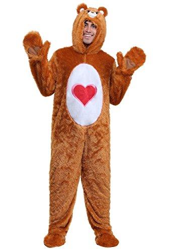 Care Bears Adult Klassische Tenderheart Bear Kostüm - XL