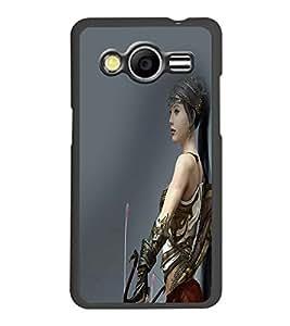 PRINTSWAG WARRIOR GIRL Designer Back Cover Case for SAMSUNG GALAXY GRAND I9082
