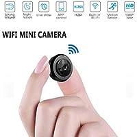 Mini cámara de WiFi micro C6, HD 720P con la aplicación de smartphone y la visión nocturna IP Home seguridad video Cámara de vídeo, mini cámara inalámbrica DV DVR cámara de vídeo grabadora de voz