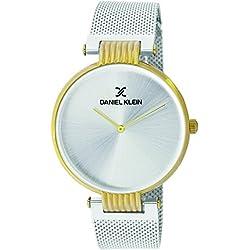 Daniel Klein Analog Silver Dial Men's Watch-DK11406-5