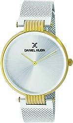 Daniel Klein Analog Silver Dial Mens Watch-DK11406-5