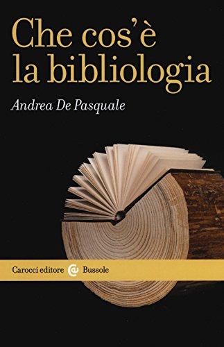 Che cos'è la bibliologia