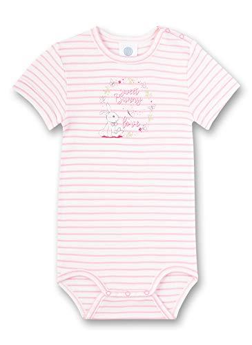 Sanetta Baby-Mädchen Halbarmbody Spieler, Rosa (rosa 3813), 92 (Herstellergröße:092)