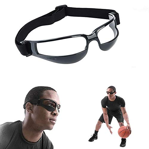 Basketball Dribbling Brille Anti-Bow Dribble Goggles Basketball Training Aid Basketball Brille Rahmen Training Brille (Brille Basketball)