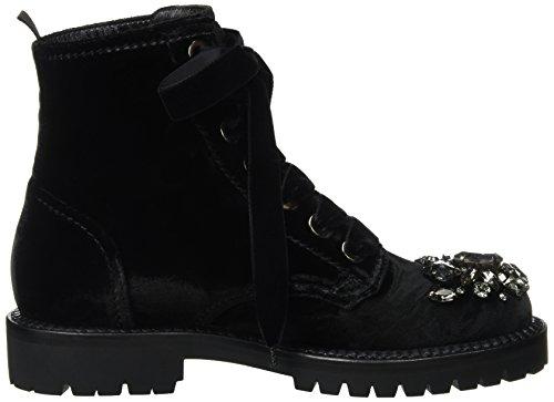 Sebastian S7436t, Bottes Motardes Femme Schwarz (Black)