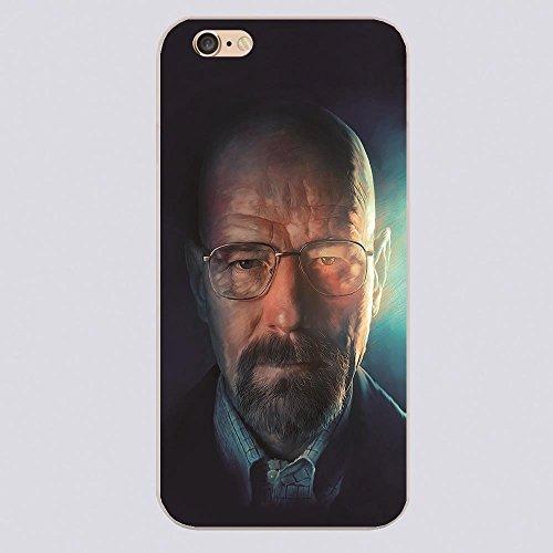 NdB 1399 - Cover Case Custodia per iPhone 5 e 5S Stampa Walter White Heisenberg Trasparente BrBa - Rigida