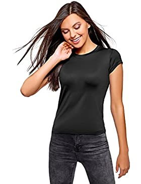 oodji Ultra Donna T-Shirt a Gi