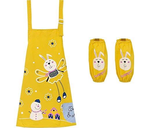 Kunst-Kittel-Malerei-Schürze Küchen-Schürze für Kinder (Künstler Kostüm Kleinkind)