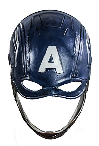 rica Helm Steven Maske Endgame CW Masken Halloween Cosplay Kostüm Erwachsene Herren Damen Vollkopf Latex Masken Fancy Dress Merchandise Zubehör ()