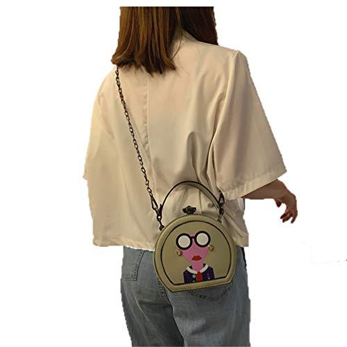Frauen-beiläufige Handtaschen-Schulter-Beutel-Crossbody Beutel-Damen-Geldbeutel-Beutel-Totes-Beutel Light Green -