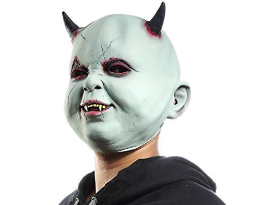 Pequeña Máscara Del Diablo, Máscara De Horror, Máscara De Broma Cara De Halloween