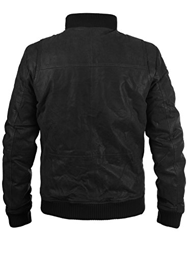 SOLID Lederjacke 6119500 Black