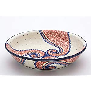 Boleslawiec Pottery Fruit Bowl, 2.7L, pattern 250AR