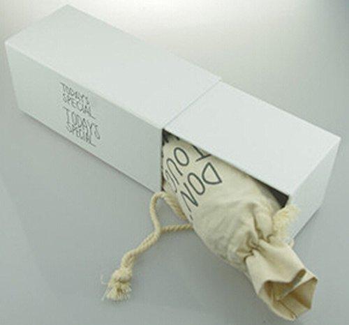 WangsAura portatile-trasparente, in plastica, My-Bottiglia acqua Sport, succhi di frutta, 500 ml, Resina, cloth bag&gift box&bottle, taglia unica