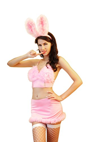 Preisvergleich Produktbild Damen Kleid Nachtwäsche Babydoll Dessous Set Playboy Bunny Kostüm Cosplay Kostüm Reizwäsche Lingerie
