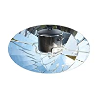 CafePress - Parabolic Solar Cooker - - Oval Bumper Sticker Car Decal 8