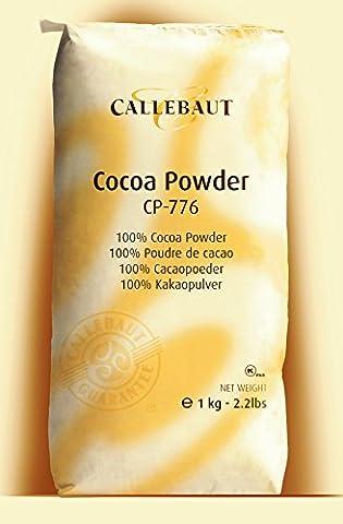 Callebaut cocoa powder - 1kg bag (Pulver Regular Zucker)