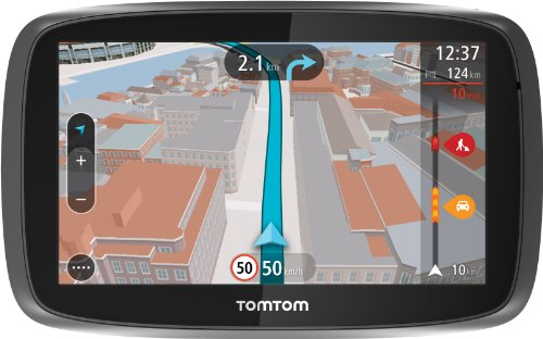 TomTom Go 500 Speak & Go Auto-Navigation (13 cm (5 Zoll) Touchscreen, micro-SD Kartenslot) schwarz