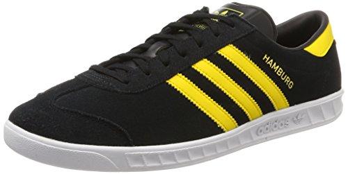 Adidas Originali Mens Hamburg Sneaker Nero (nucleo Nero)