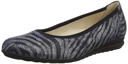 Gabor Shoes Comfort Sport, Bailarinas para Mujer, Azul Bluette 38, 40.5 EU
