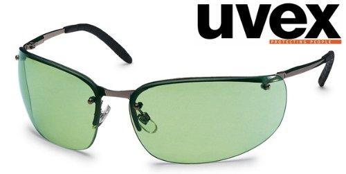 heitsbrille mit Metallrahmen, Grün ()