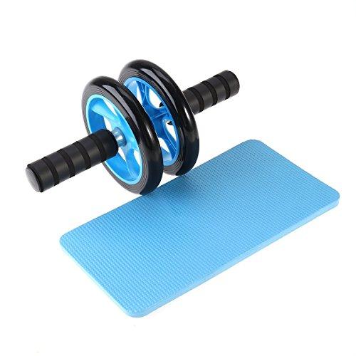 KanCai AB Roller Bauchtrainer AB Wheel für Fitness Bauchmuskeltraining Muskelaufbau Bauchroller für Frauen und Männer