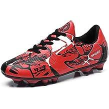 Zapatos De Fútbol Para Amantes Botines De Fútbol De Cuero Cómodo Botas De  Fútbol 59d5c696e2b39