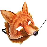 Fancy Dress VIP Realistic Face Mask Book Week Animal Zoo Jungle Woodland Creature Carnival Facemask for Adults and Kids