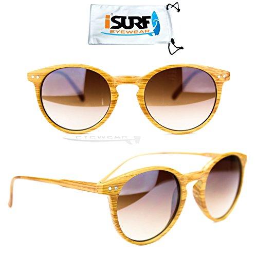 occhiali-da-sole-marca-isurf-rb-rotondi-round-wood-ray-effetto-legno-unisex-2180-ban-marrone-sfumato