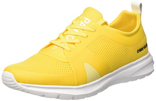 Pantone Kilimanjaro, Low-Top Chaussures mixte adulte Jaune (Cyber Yellow 14-0760 Tpx_33)
