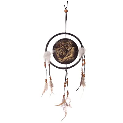 Loyal Companions Lisa Parker Wolf Printed Dreamcatcher Small. A perfect gift for that Birthday Gift, Christmas Present or Fathers day gifts etc...
