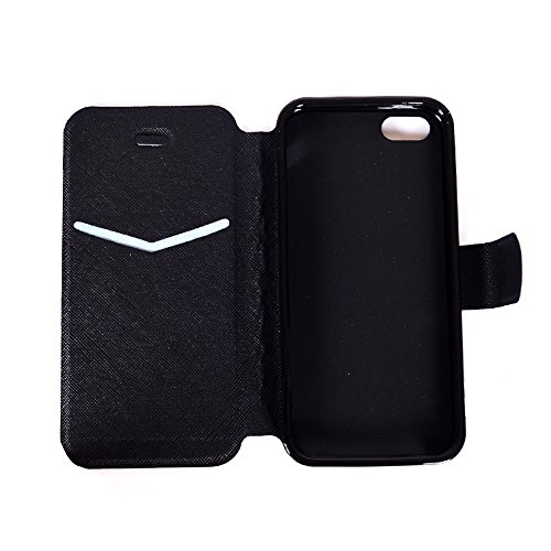 Apple iPhone 6 Plus/6S Plus 5.5 Hülle, Voguecase Kunstleder Tasche PU Schutzhülle Tasche Leder Brieftasche Hülle Case Cover (Schaukel 01) + Gratis Universal Eingabestift Make a Wish 01