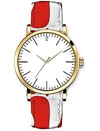 3a1fc3c7bdea ICreat-Reloj Vintage para mujer cuarzo Rare Chic Lady Ladies de señora  niña