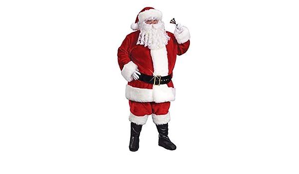 SANTA Claus Babbo Natale Deluxe Bretelle Natale Costume Accessorio Costume