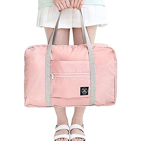 FunYoung Bolso de viaje del equipaje de mano plegable portátil superligero hecho de la elección del color de