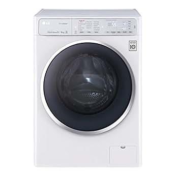 LG F14U1FCH2N Autonome Charge avant A Blanc machine à laver avec sèche linge - machines à laver avec sèche linge (Charge avant, Autonome, Blanc, Gauche, Toucher, LED)