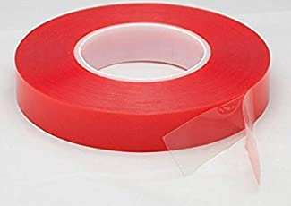 Wonder 25 mm Strong Acrylic Adhesive Clear Double Sided Tape Heat Resistant Double-sided Transparent Clear Adhesive Tape 25 Mts