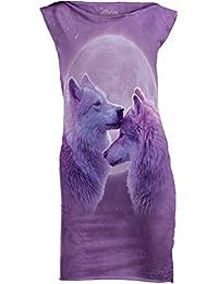 The Mountain Junior's Loving Wolves USA Mini Dress