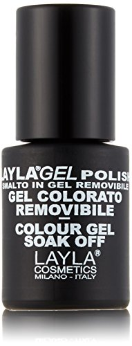 Layla Cosmetics, Smalto colorato in gel, Rich Girl, 10 ml