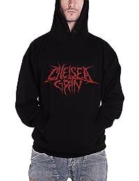 Chelsea Grin Skull Bite nouveau Homme Noir Pullover Sweat-shirt à capuche