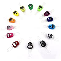 Buda anillos electrónico contador contador contador dedo mano color al azar