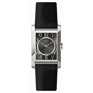 Hugo Boss - 1512000 - Montre Homme - Quartz - Bracelet Cuir Noir