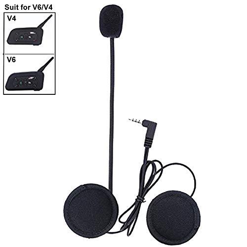 Micrófono Auriculares para V6/V4 Moto Casco Bluetooth intercomunicador Interphone Auriculares