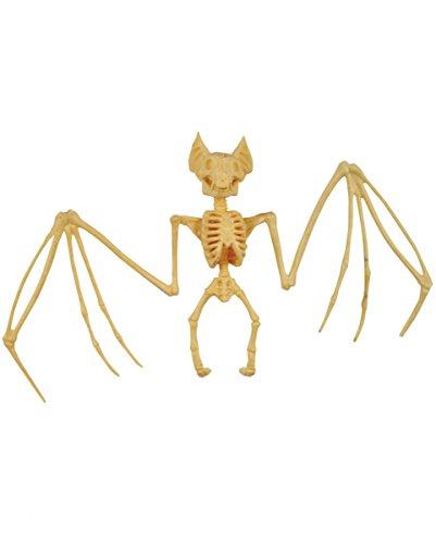 (Horror-Shop Vampir Fledermaus Skelett 27cm als Halloween Deko)