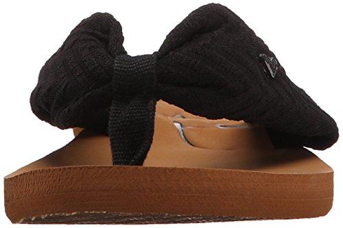 Roxy Caribe II Stoff Sandale Black