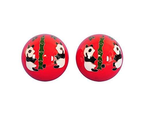 VStoy Baoding chino bolas de salud ejercicio bolas de estrés Craft Collection & # xff08; 50mm y # xFF09;